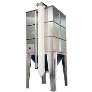 Verzinkte modulesilo's met 45° trechteronderbouw