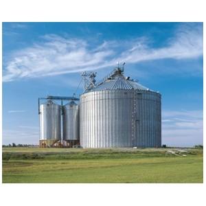 Stalen silo's voor binnen- of buitenopslag