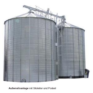 Stalen silo's voor binnen- of buitenopslag II